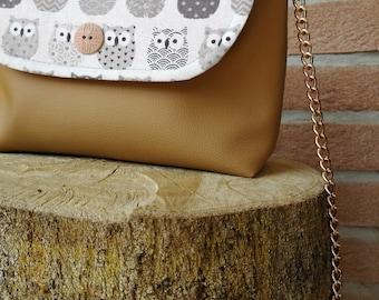 Faux leather bag shoulder bag faux leather purse handbag
