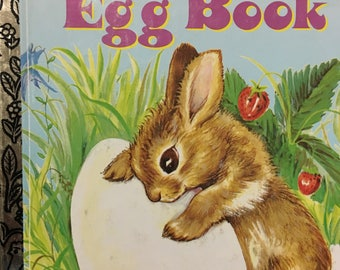 Golden Egg Book Little Golden Book by Margaret Wise Brown Copyright 1947 / 1994 Edition #307-69 - Golden Book Luv
