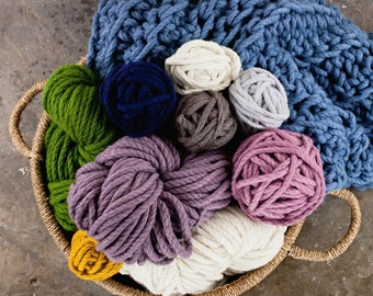 Homelea Bliss Chunky Yarn - 300g Skeins - soft merino wool, Australian made and grown