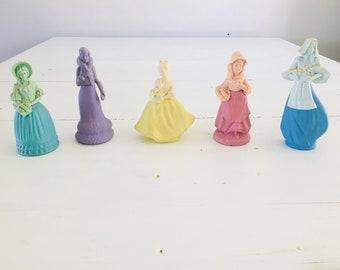 Vintage Avon Figurine Perfume Bottles