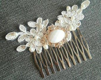 Elegant luxury hair comb