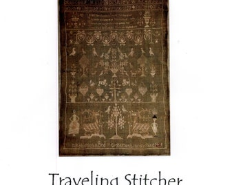 Traveling Stitcher:  Ann Robinson 1800 - Cross Stitch Semi-Kit