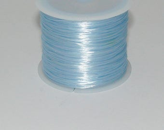3 m elastic blue 0.8 mm thick
