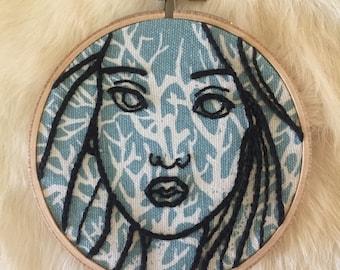 Femme embroidery hoop