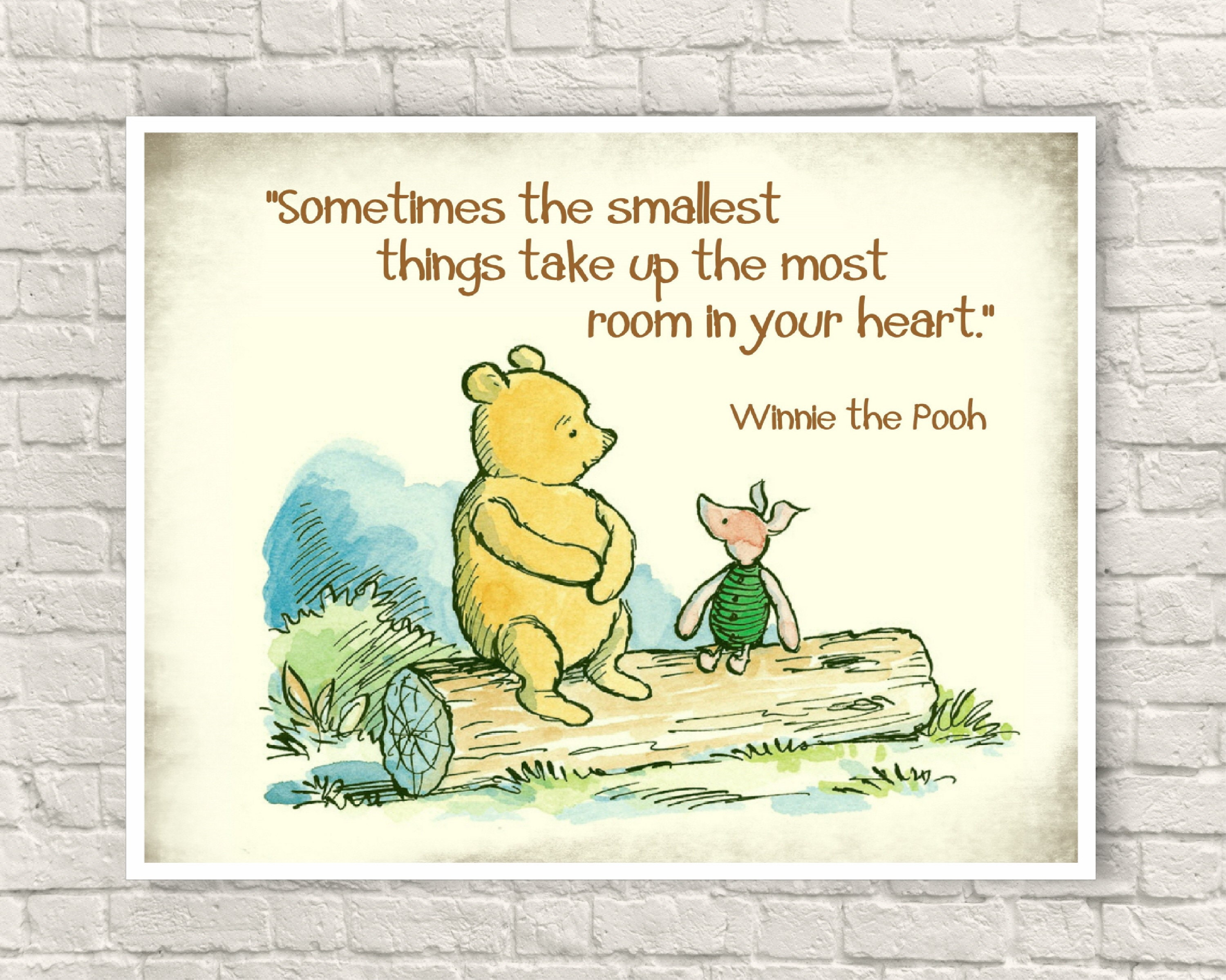 Nice Classic Pooh Wall Art Contemporary - The Wall Art Decorations ...