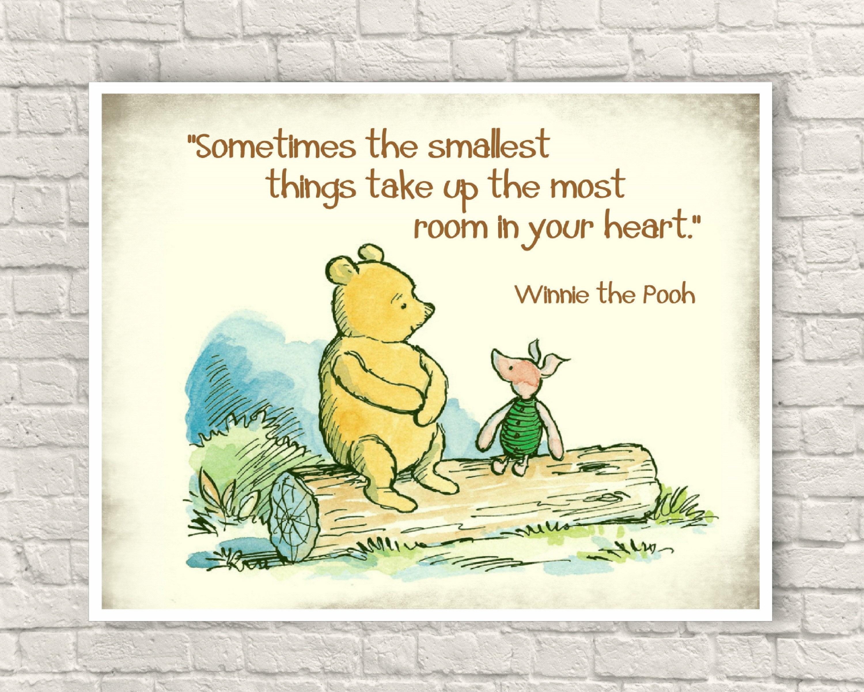 Wonderful Classic Winnie The Pooh Wall Art Ideas - The Wall Art ...