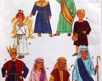 Children's/Boys'/Girls' Costume Size 4 Through 14 Butterick 6505 Uncut Sewing Pattern 2001