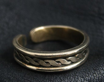 Viking bronze ring