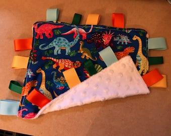 Dinosaur Ribbon Comforter