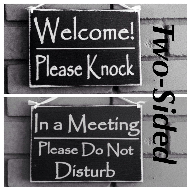 do not disturb door hangers