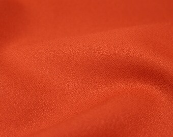Atelier Brunette: Tangerine Crepe Viscose