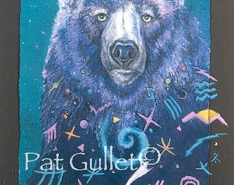 Bear Dreaming Print