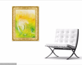 DANTE - Original Abstract Art on Canvas - Modern Art - Fine Art Print - Decorative Wall Art - Dante Alighieri