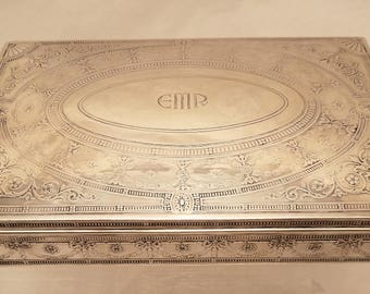 Tiffany & Co. Sterling Jewelry / Cigar Box 18496B