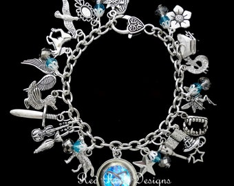 The Mortal Instruments / The Infernal Devices Combination Charm Bracelet