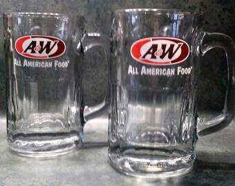 A & W Mugs - Vintage (Set of 2)