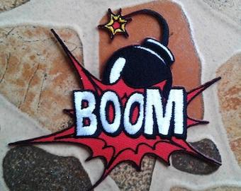 Bomb Boom patch.
