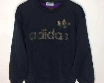 Rare!!! Vintage Adidas Big Logo Sweatshirt