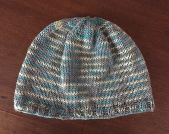 Ovarian Cancer Bamboo Chemo Cap, Knitted