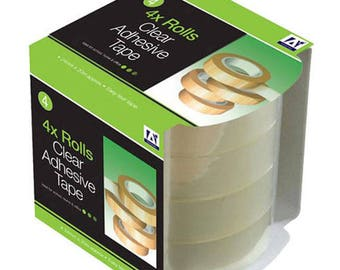 Anker Clear Adhesive Sticky Tape - 4 Rolls (TQP/3060)
