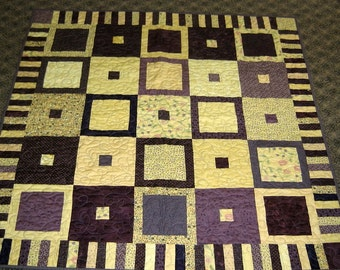 Butterfly Garden Lap or Baby Quilt