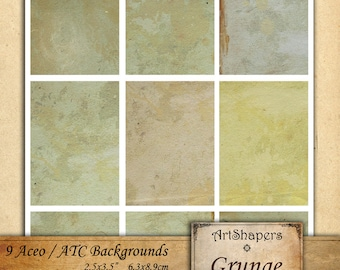 GRUNGE- Aceo backgrounds, jewelry holders,instant download paper,digital papers,digital collage sheet DCS39
