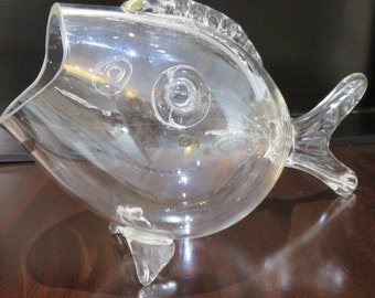 Mid-Century Modern Blenko Glass Fish.