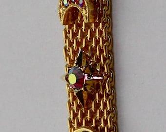 Kirks Folly Stars-Moon-Crystals Bracelet