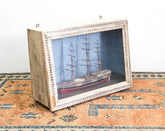 Encased Clipper Ship