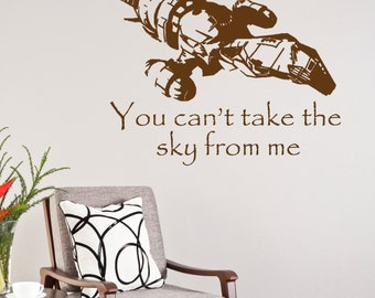 Firefly Serenity Wall Decal