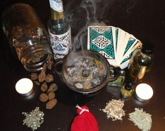 Full Hoodoo Consultation - Tarot Intuitive Reading, Rootwork Advice (via Typed Email)