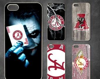 alabama crimson tide iphone 7 case, iphone 7 plus case, iphone 6/6s , iphone 8 case, iphone 6 plus case,iphone x,5/5s case,5c case,4/4s case