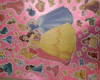 Princess stickers stickers