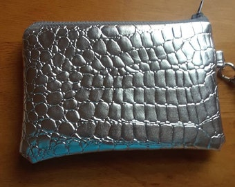 Mini Wristlet with Detachable Strap