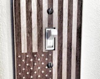 U.S. Flag Switch plate