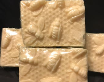 Honey Citrus Goat Milk Soap- Bees