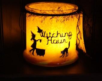 Witching Hour Eve Halloween Lantern