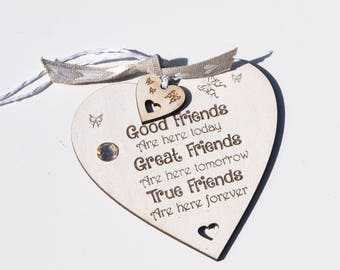 Friends A friend is one of the nicest things you can have Quote Heart