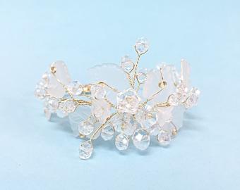 Bridal jewelry bracelet, wedding bracelet, bridal bracelet, bangle bracelet, bracelet for wedding, wedding jewelry bracelet, bracelet