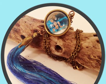"DIY Kit-""Blue Dreams"" Pendant-limited edition"