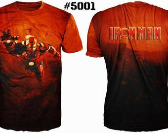 "Fantastic movie cinema men's 3D t-shirt ""Iron Man"""
