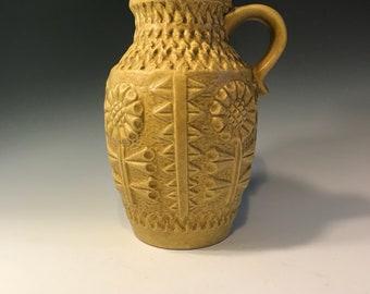 1960s West German Bay Keramik Vase 258 20
