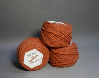tomette, naturally hand dyed Merino Wool