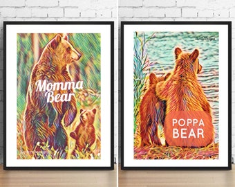 Mummy/Daddy Bear Prints