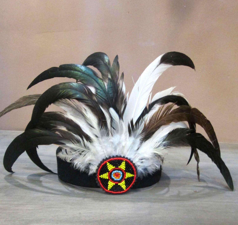 Diadema India Balagan diadema de plumas tocado de plumas