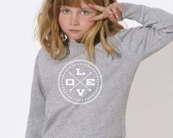 Boy Girl Baby sweater JUNTOS DESDE... (together since...)
