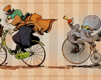 Racing Otto - various sizes
