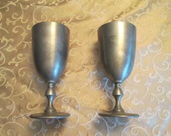 PEWTER Goblets