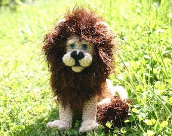 PDF Crochet Pattern,Amigurumi,Soft Toy,Knitting,Crocheting,Crochet Lion,Pattern,Lion Teddy,Amigurumi Circus,Circus Toy,Cute Crochet