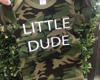 LITTLE DUDE Baby Bodysuit